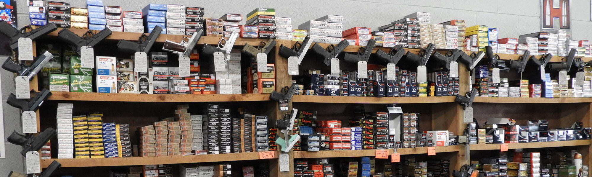 Ammo Collection and Pistols