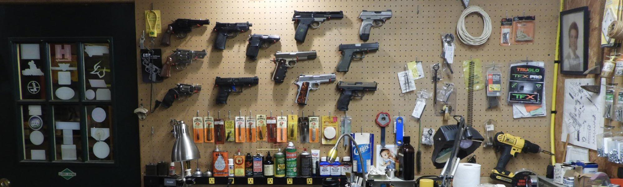 Pistol Wall
