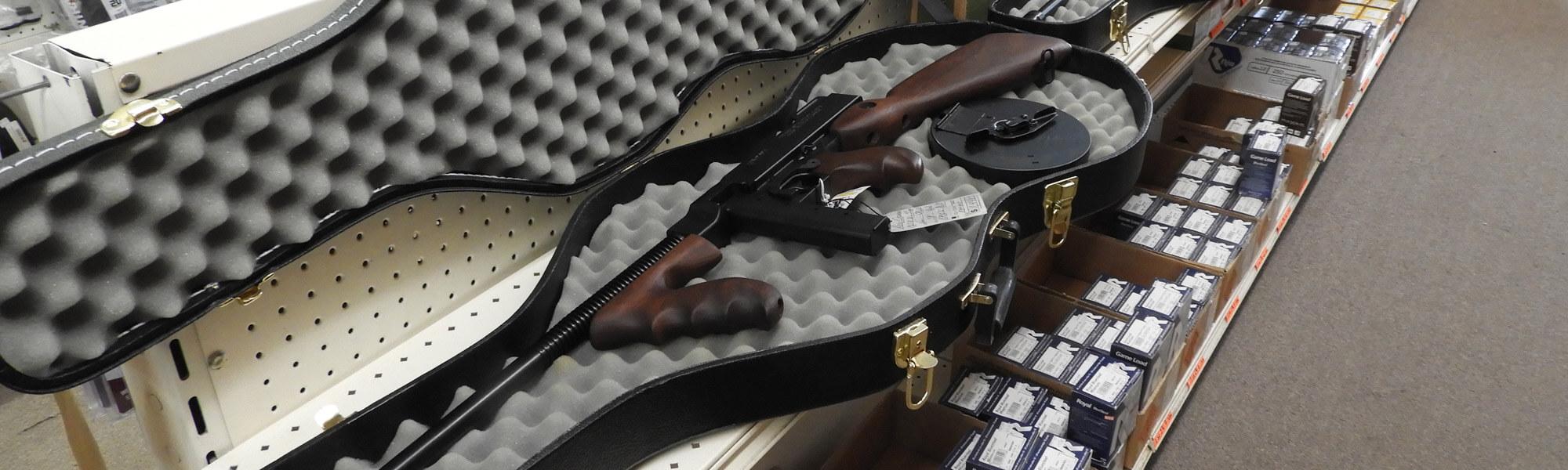 Tommy Gun in Cello Case